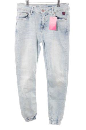 Pepe Jeans Skinny Jeans himmelblau College-Look