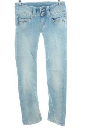 Pepe Jeans Skinny Jeans himmelblau Used-Optik