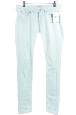 Pepe Jeans Skinny Jeans türkis Casual-Look