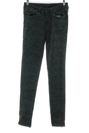 Pepe Jeans Skinny Jeans waldgrün abstrakter Druck Casual-Look