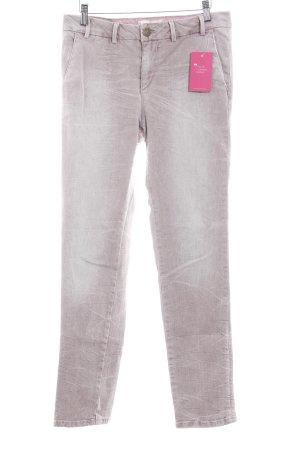 Pepe Jeans Slim Jeans altrosa meliert Destroy-Optik