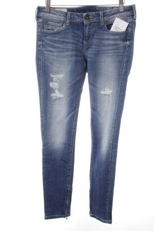 Pepe Jeans Slim Jeans blau Casual-Look