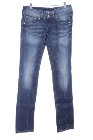 Pepe Jeans Slim Jeans blau-dunkelblau Casual-Look
