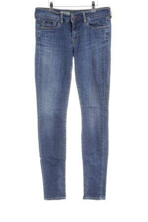 Pepe Jeans Slim jeans blauw-staalblauw casual uitstraling