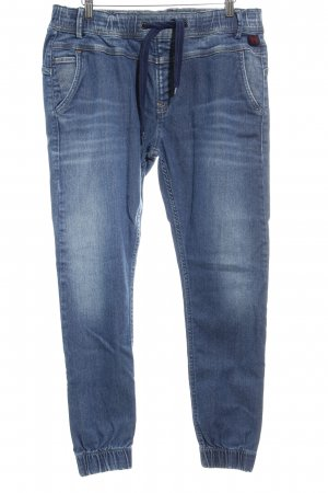 Pepe Jeans Slim Jeans blau Washed-Optik