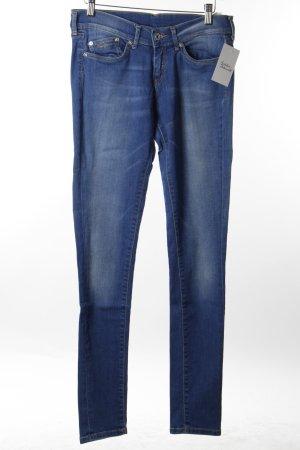 Pepe Jeans Slim Jeans blau-wollweiß Casual-Look