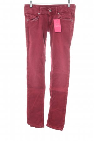 Pepe Jeans Slim Jeans red casual look
