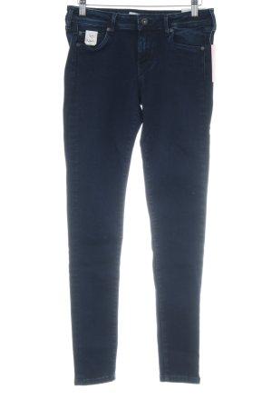 Pepe Jeans Slim Jeans dunkelblau Casual-Look