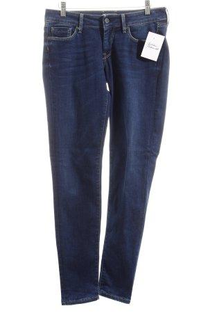 Pepe Jeans Slim Jeans dunkelblau schlichter Stil