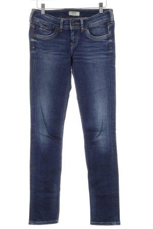 Pepe Jeans Slim Jeans dunkelblau-stahlblau Casual-Look