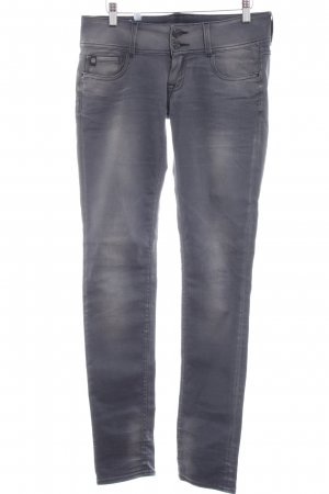 Pepe Jeans Slim Jeans dunkelgrau-grau Farbverlauf Casual-Look
