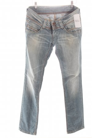 Pepe Jeans Slim Jeans hellblau Washed-Optik