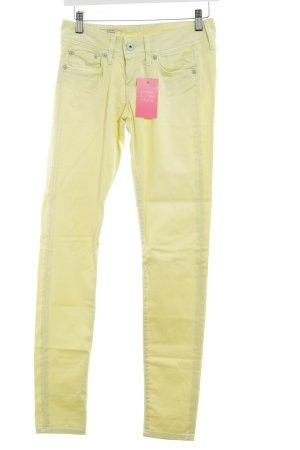 Pepe Jeans Slim Jeans hellgelb Casual-Look