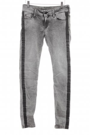 Pepe Jeans Slim Jeans hellgrau Washed-Optik