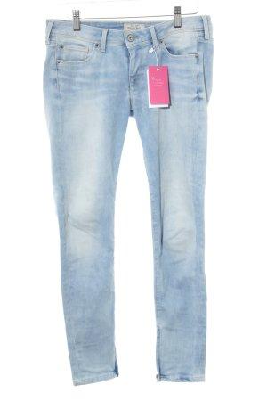 Pepe Jeans Slim Jeans himmelblau Farbverlauf Casual-Look