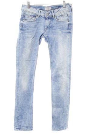 Pepe Jeans Slim Jeans mehrfarbig Used-Optik