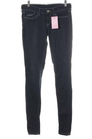 Pepe Jeans Slim Jeans petrol Casual-Look