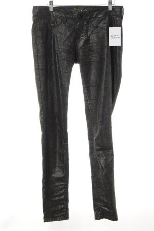 Pepe Jeans Slim Jeans schwarz-grüngrau Farbverlauf Casual-Look