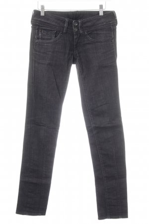 Pepe Jeans Slim Jeans schwarz meliert Casual-Look