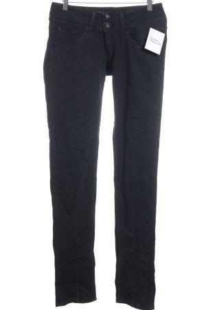 Pepe Jeans Slim Jeans schwarz schlichter Stil