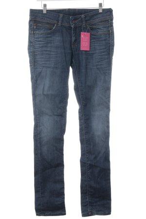 Pepe Jeans Jeans slim bleu acier style décontracté