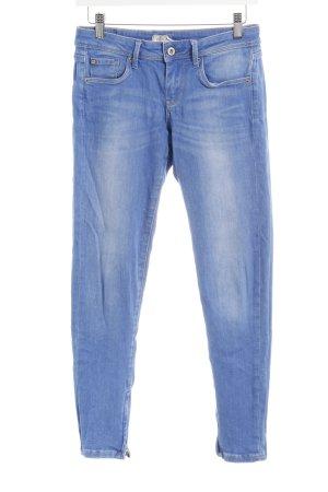 Pepe Jeans Slim Jeans stahlblau Casual-Look