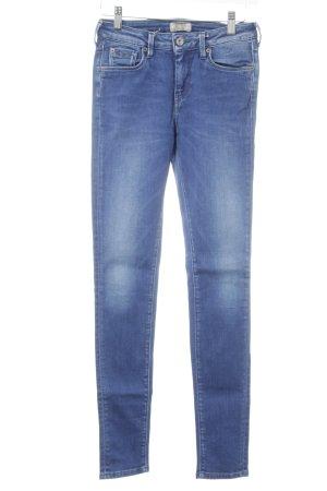 Pepe Jeans Slim Jeans stahlblau-himmelblau Casual-Look