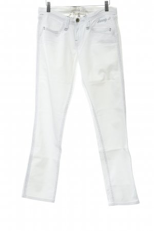 Pepe Jeans Jeans slim blanc style décontracté