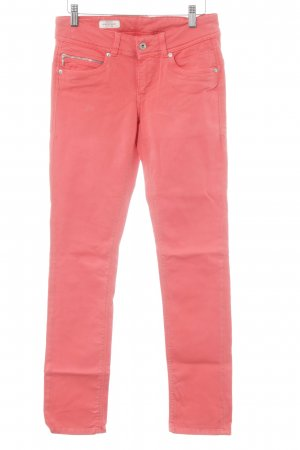Pepe Jeans Slim jeans baksteenrood simpele stijl