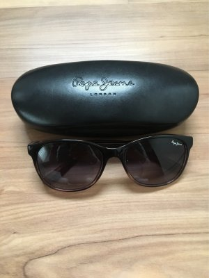 Pepe Jeans Ovale zonnebril zwart-lichtgrijs