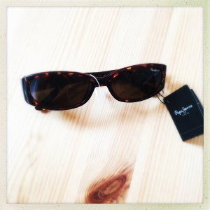 Pepe Jeans London Sunglasses dark brown-brown acetate