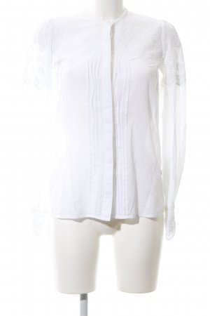 Pepe Jeans Lace Blouse white business style