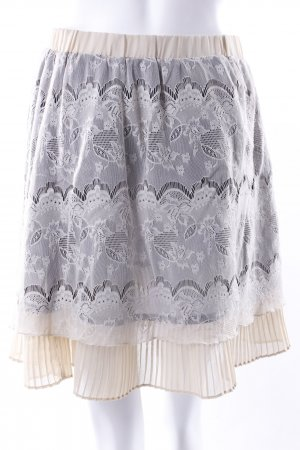 Pepe Jeans lace skirt cream