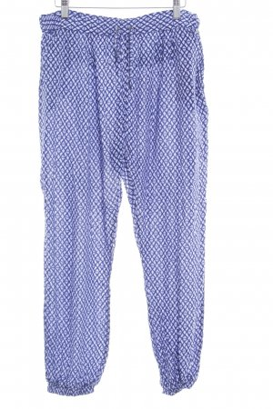 Pepe Jeans Stoffhose blau Allover-Druck Casual-Look