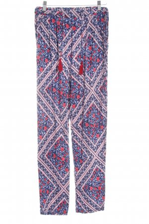 Pepe Jeans Stoffhose florales Muster Casual-Look