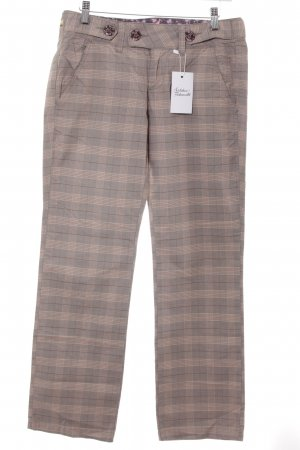 Pepe Jeans Stoffhose Karomuster Casual-Look
