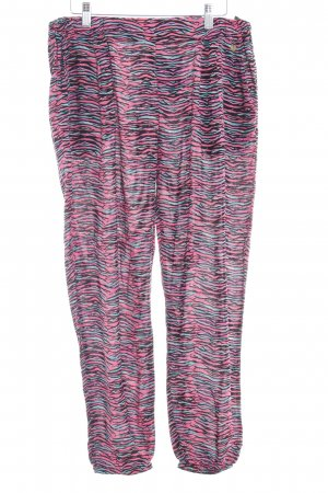 Pepe Jeans Stoffhose pink Animalmuster Animal-Look