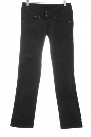 Pepe Jeans Stoffhose schwarz Business-Look