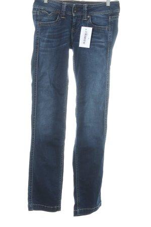"Pepe Jeans Straight-Leg Jeans ""Banji"" dunkelblau"