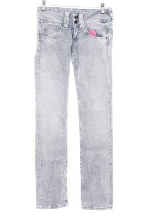 Pepe Jeans Straight-Leg Jeans blassblau Casual-Look