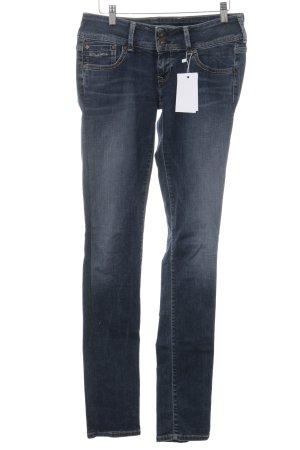 Pepe Jeans Jeans a gamba dritta blu stile casual