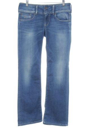 Pepe Jeans Vaquero rectos azul look casual