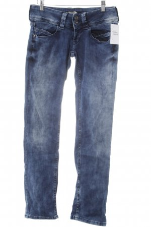 Pepe Jeans Straight Leg Jeans blue casual look