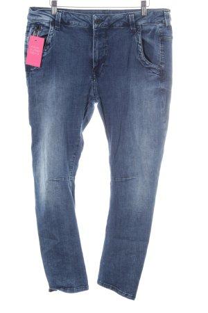 Pepe Jeans Straight-Leg Jeans blau Farbverlauf Casual-Look