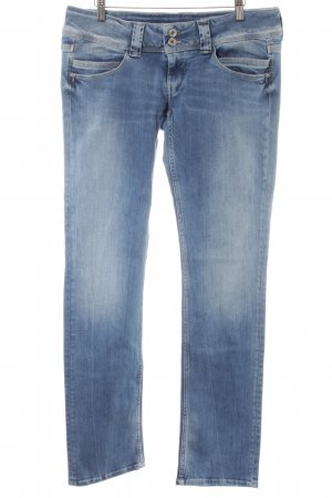 Pepe Jeans Straight-Leg Jeans blau Jeans-Optik