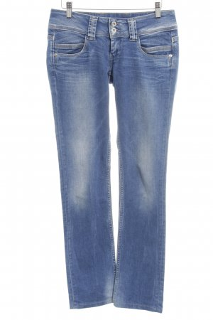 Pepe Jeans Straight-Leg Jeans blau Washed-Optik