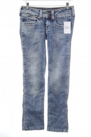 Pepe Jeans Straight Leg Jeans blue-natural white casual look