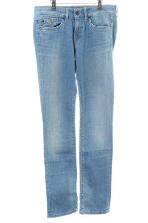 Pepe Jeans Straight-Leg Jeans blau Casual-Look