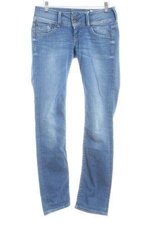 "Pepe Jeans Straight-Leg Jeans ""Dita"" blau"