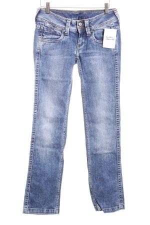 Pepe Jeans Straight-Leg Jeans dunkelblau Casual-Look